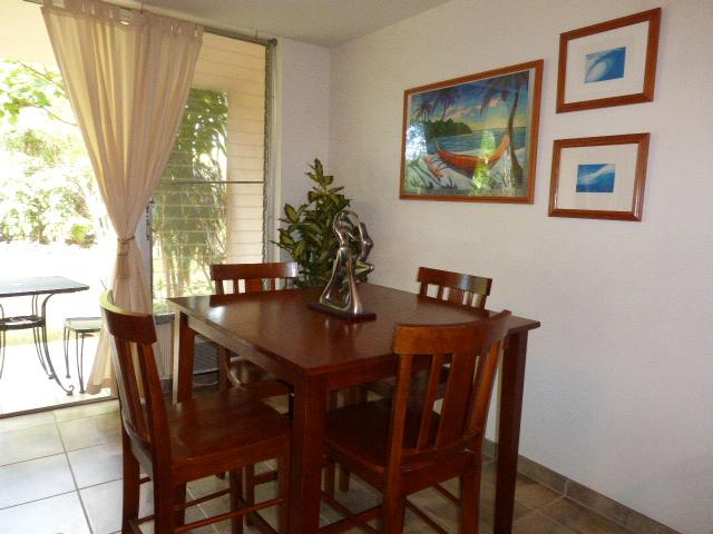 Kihei Kai Nani Condo 153 Dining Area